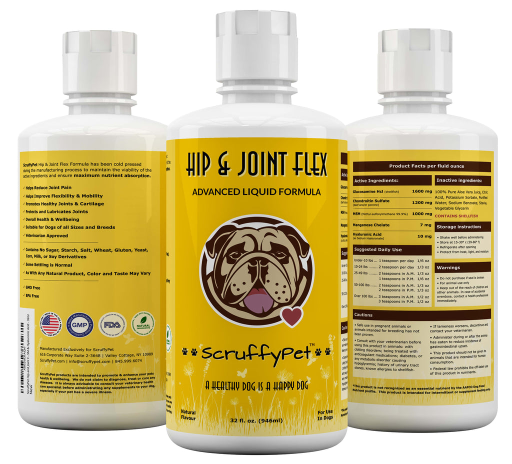 HIP AND JOINT FLEX FOR DOGS