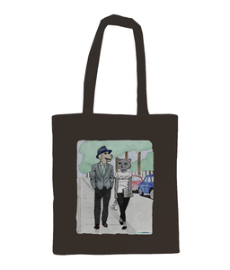 Shoulder Cotton Tote Bag - Breathless