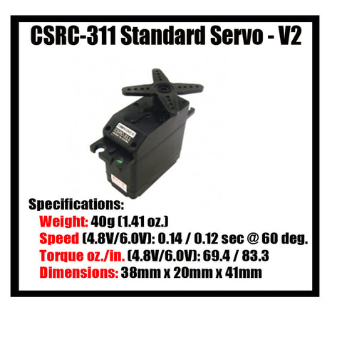 Common Sense Servos