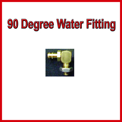 90 Degree Water Fitting