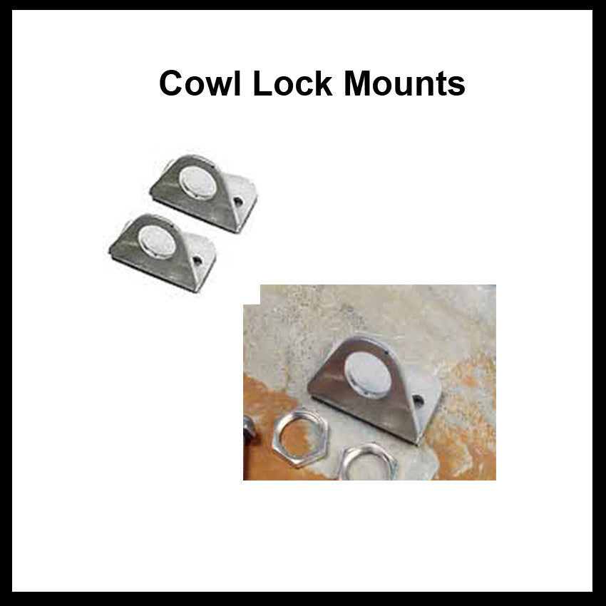 Cowl Lock Mounts