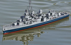 1/72 US Fletcher Class Destroyer ARR