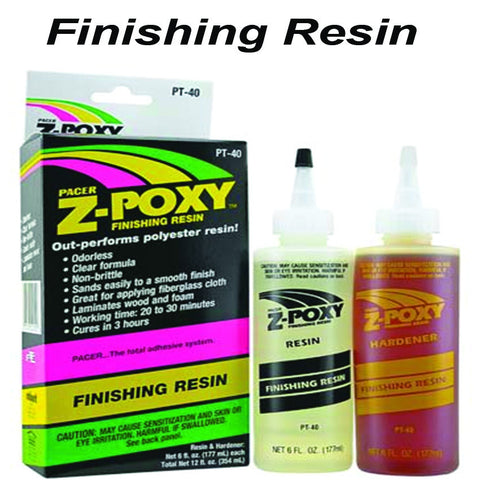 ZAP Finishing Resin- 12 oz PT-40
