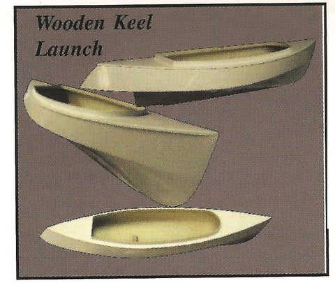 Wooden Keel Launch