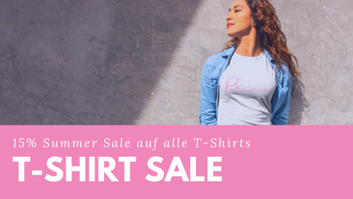 15% Mid-Summer-SALE auf alle T-Shirts