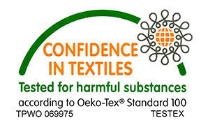 Confident in Textiles Logo