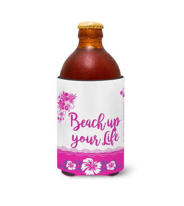 Beach up your Life Stubby Rote Blumen -