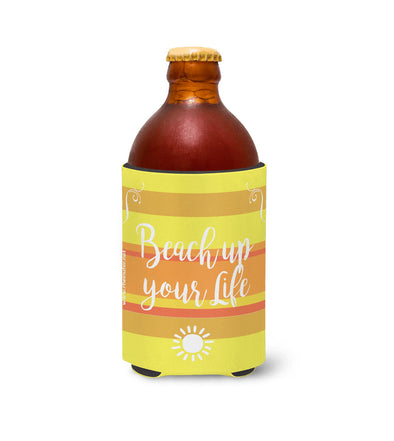 Beach up your Life Stubby Gelb -