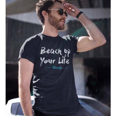 Beach up your Life T-Shirt Herren