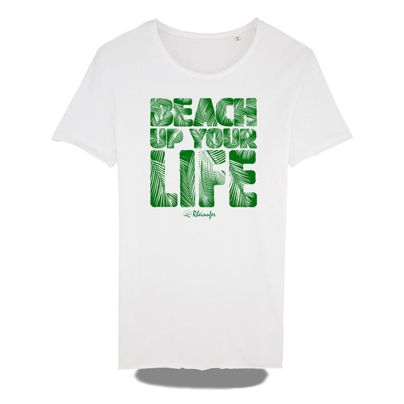 Beach Up Your Life Raw Edge Shirt Herren