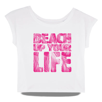 Beach Up Your Life Oversize Shirt Damen
