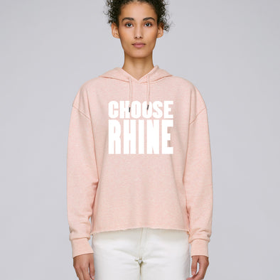 Choose Rhine Hoodie Damen mit Raw Edge Saum -