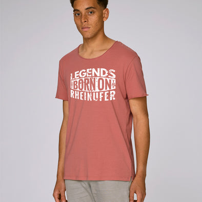 Legends Are Born Raw Edge T-Shirt Herren