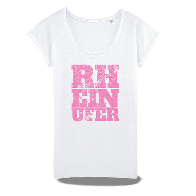 Rheinufer Inkpress Raw Edge T-Shirt Damen
