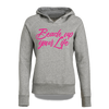 Beach up your Life Hoodie Damen - M / Grau
