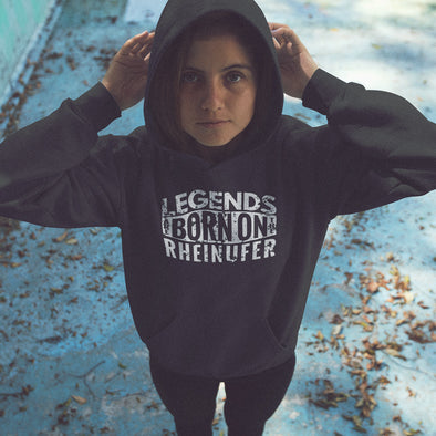 Legends Are Born On The Rheinufer Hoodie Kinder
