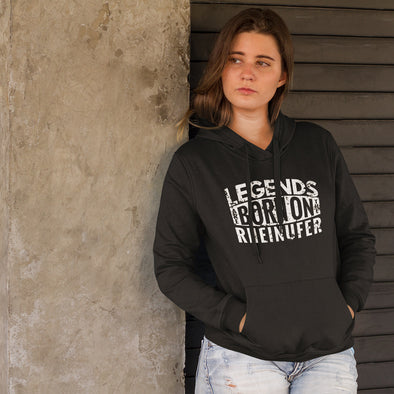 Legends Are Born Crossover Hoodie Damen