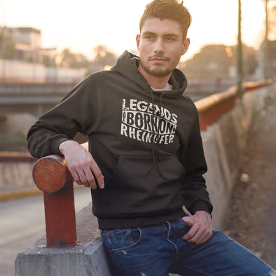 Legends Are Born Crossover Hoodie Herren