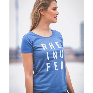 RHEINUFER Letter T-Shirt Damen -