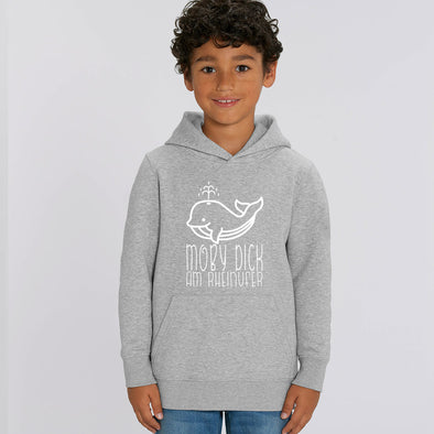 Moby Dick am Rheinufer Hoodie Kinder