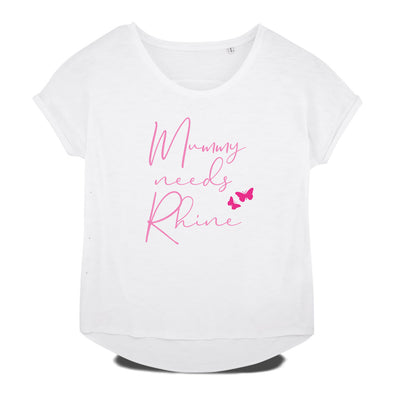 Mummy needs Rhine weites T-Shirt Damen