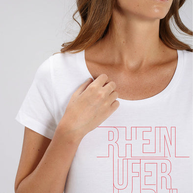 Rheinufer Lines T-Shirt Damen