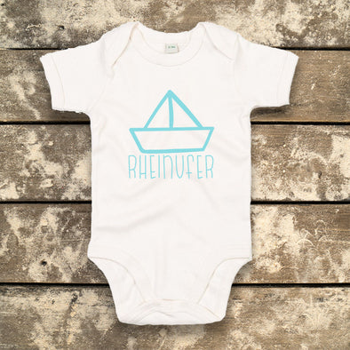 Rheinufer Papierboot Baby Body