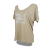 Beach Up Shirt mit Fledermaus-Ärmel Damen -