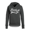 Beach up your Life Hoodie Damen - M / Anthrazit