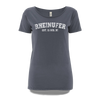 Rheinufer College T-Shirt Damen - S / Hellgrau