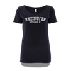 Rheinufer College T-Shirt Damen - XL / Navy