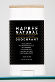 HAPBEE NATURAL DEODORANT - BACK IN STOCK!