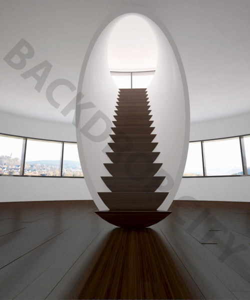 Modern Stair Backdrop