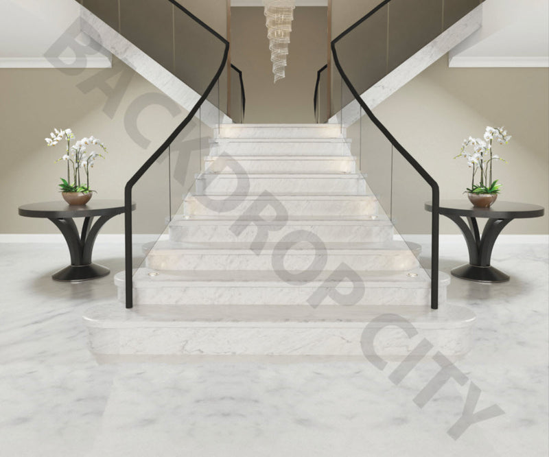 Contemporary Stair Backdrop