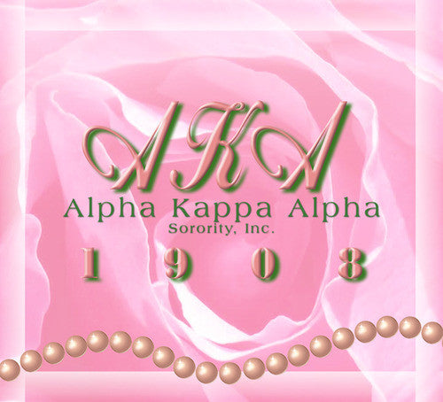 Alpha Kappa Alpha (AKA) Computer Printed Backdrop - Backdrop City