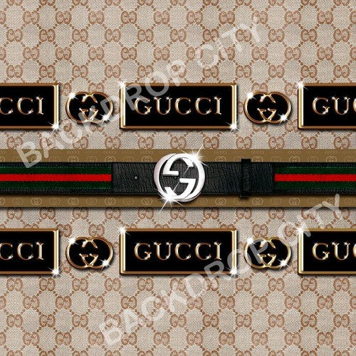 Gucci Computer Printed Backdrop - Backdrop City