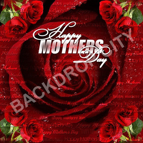 Mothers Day Computer Printed Backdrop - Backdrop City