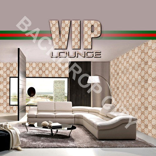 VIP Lounge Computer Printed Backdrop - Backdrop City
