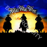 Wild Wild West Computer Printed Backdrop - Backdrop City