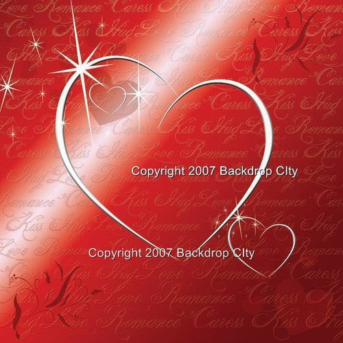 Love Romance Computer Printed Backdrop - Backdrop City