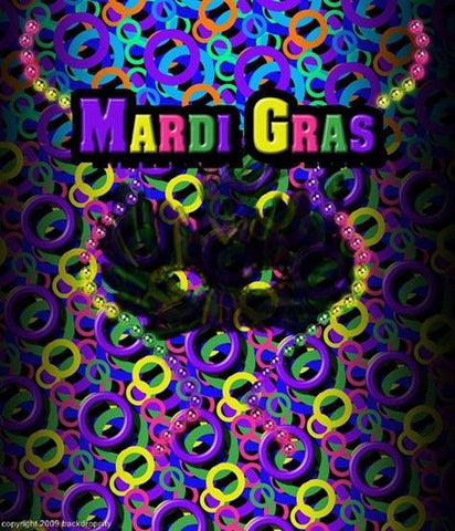 Mardi Gras-bg1 Computer Printed Backdrop - Backdrop City