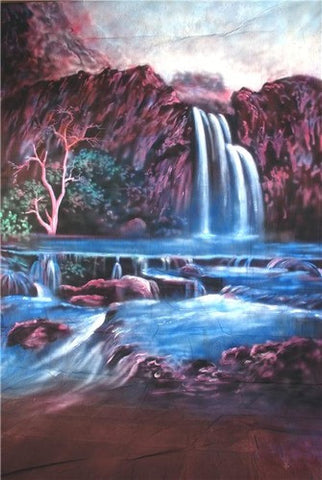 Havasu Falls Computer Printed Backdrop - Backdrop City