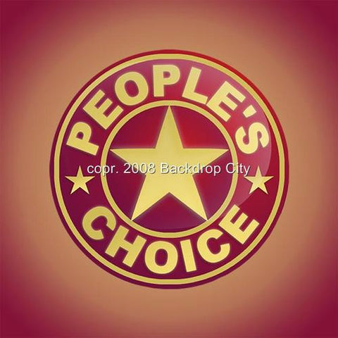 People's Choice Computer Printed Backdrop - Backdrop City