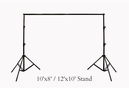 HEAVY DUTY BACKDROP STAND - Backdrop City