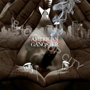 American Gangster Smoke -Digital Image File - Backdrop City