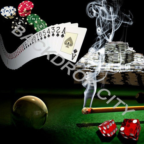 GAMBLER  - Digital Image File - Backdrop City