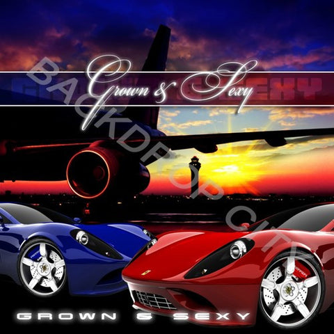 GROWN FERRARI - Digital Image File - Backdrop City