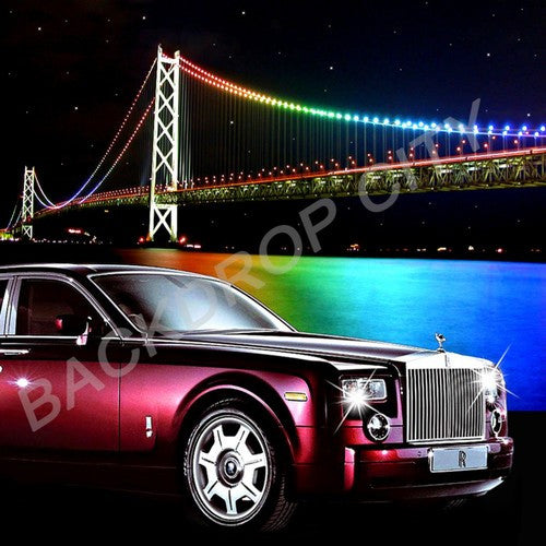 BRIDGE & RR - Digital Image - Backdrop City