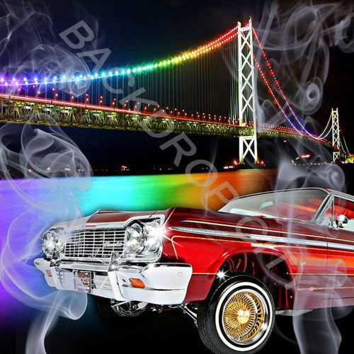 CAR & BRIDGE - Digital Image File - Backdrop City