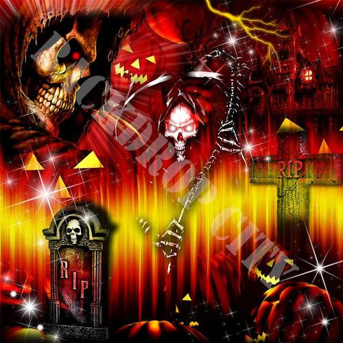 Halloween - Digital Image File - Backdrop City
